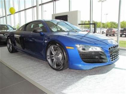 2012 AUDI R8 QUATTRO - BLUE ON BLACK