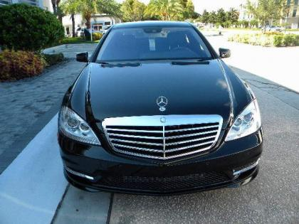 2012 MERCEDES BENZ S350 BASE - BLACK ON BLACK