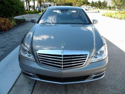 2012 MERCEDES BENZ S350 4MATIC - SILVER ON GRAY