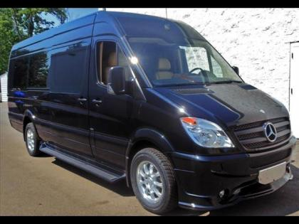 2012 MERCEDES BENZ SPRINTER 2500 170 WB - BLACK ON BEIGE