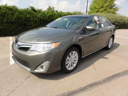 2012 TOYOTA CAMRY HYBRID XLE - BRONZE ON GREY