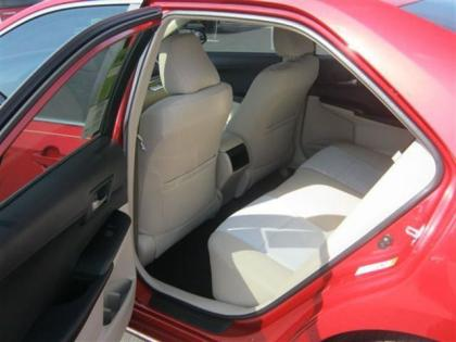 2012 TOYOTA CAMRY LE - RED ON BEIGE 6