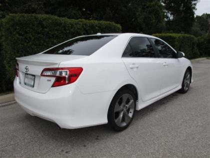 Export New 2012 Toyota Camry Se White On Black