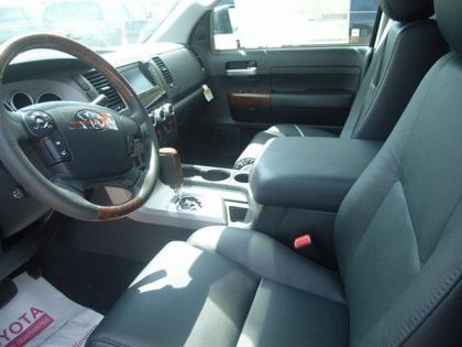 2012 TOYOTA TUNDRA LIMITED - BLACK ON BLACK 5