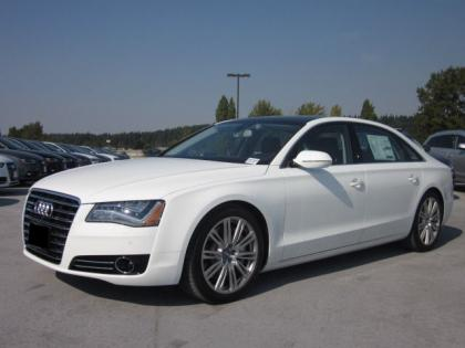 2013 AUDI A8 L - WHITE ON BLACK 1