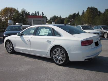 2013 AUDI A8 L - WHITE ON BLACK 2