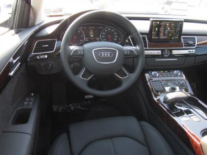 2013 AUDI A8 L - WHITE ON BLACK 3