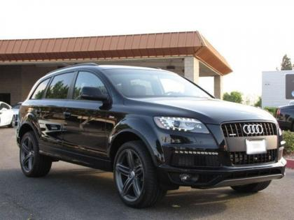 2013 AUDI Q7 S LINE PRESTIGE - BLACK ON BLACK