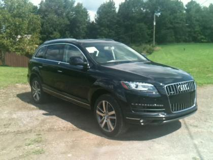 2013 AUDI Q7 TDI PREMIUM - BLACK ON BEIGE