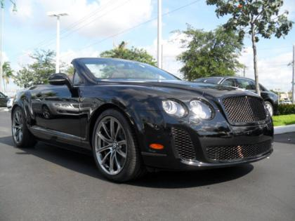 2013 BENTLEY CONTINENTAL SUPERSPORTS ISR - BLACK ON BLACK