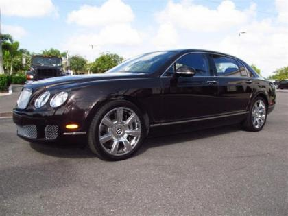 2013 BENTLEY CONTINENTAL FLYING SPUR - BLACK ON BROWN