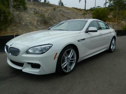 2013 BMW 650 I GRAN COUPE XDRIVE - WHITE ON BLACK 1