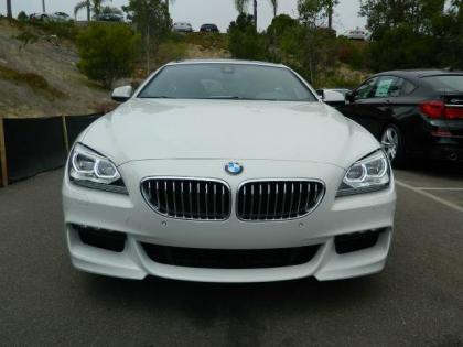 2013 BMW 650 I GRAN COUPE XDRIVE - WHITE ON BLACK 2