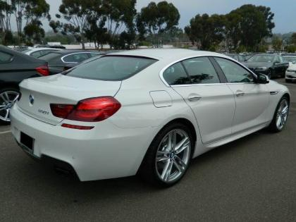 2013 BMW 650 I GRAN COUPE XDRIVE - WHITE ON BLACK 3