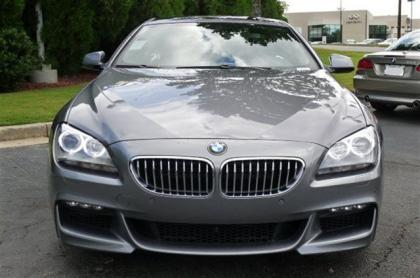 2013 BMW 650 I - SILVER ON BLACK