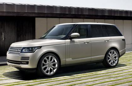 2013 LAND ROVER RANGE ROVER BASE - SILVER ON WHITE