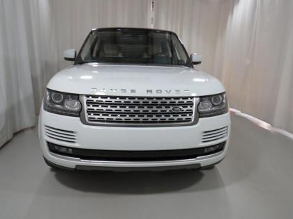 2013 LAND ROVER RANGE ROVER SUPERCHARGED - WHITE ON BEIGE 2