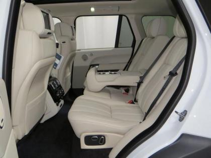 2013 LAND ROVER RANGE ROVER SUPERCHARGED - WHITE ON BEIGE 7