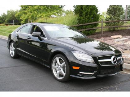 2013 MERCEDES BENZ CLS550 4MATIC - BLACK ON BLACK