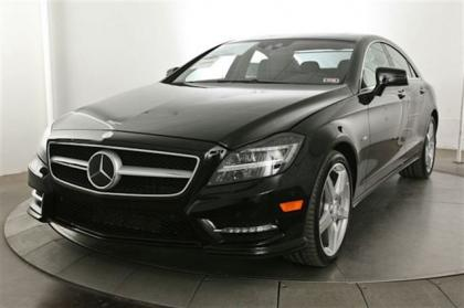 2013 MERCEDES BENZ CLS550 BASE - BLACK ON BLACK