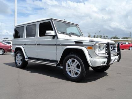 2013 MERCEDES BENZ G550 4MATIC - WHITE ON BROWN 1