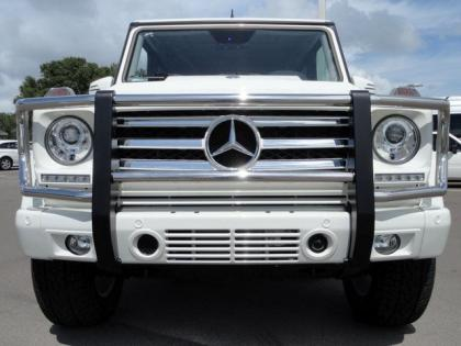 2013 MERCEDES BENZ G550 4MATIC - WHITE ON BROWN 2