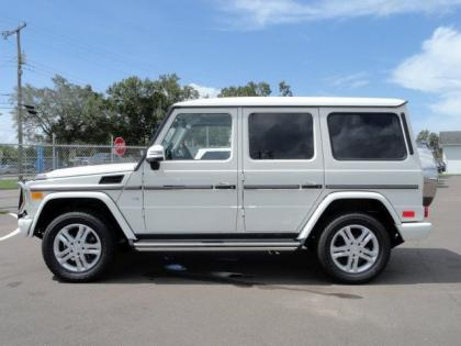 2013 MERCEDES BENZ G550 4MATIC - WHITE ON BROWN 3