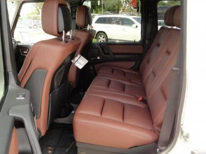 2013 MERCEDES BENZ G550 4MATIC - WHITE ON BROWN 7