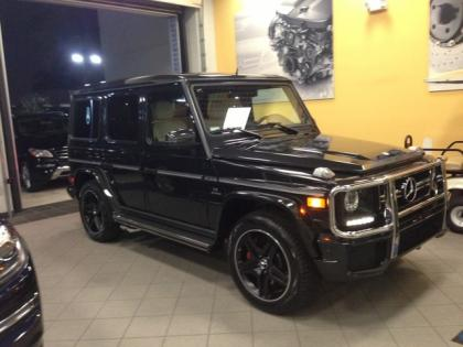2013 MERCEDES BENZ G63 AMG - BLACK ON BEIGE