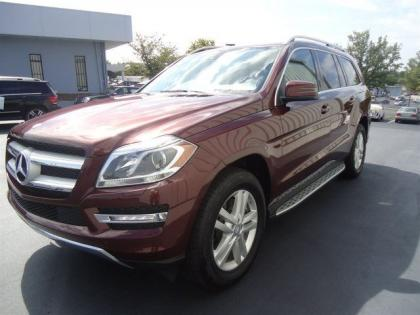 2013 MERCEDES BENZ GL450 4MATIC - RED ON BEIGE