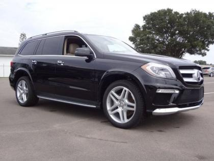 2013 MERCEDES BENZ GL550 4MATIC - BLACK ON BEIGE