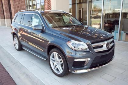 2013 MERCEDES BENZ GL550 4MATIC - GREY ON BEIGE