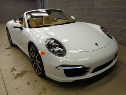 2013 PORSCHE 911 CARRERA - WHITE ON BEIGE