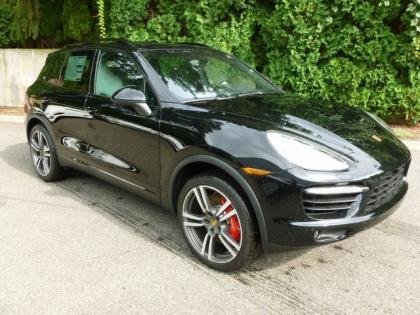 2013 PORSCHE CAYENNE TURBO - BLACK ON BLACK