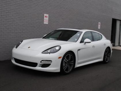 2013 PORSCHE PANAMERA S - WHITE ON BLACK