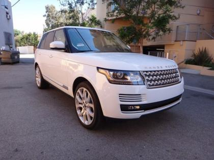 2013 LAND ROVER RANGE ROVER SC - WHITE ON WHITE 1