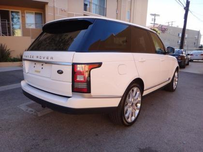 2013 LAND ROVER RANGE ROVER SC - WHITE ON WHITE 2