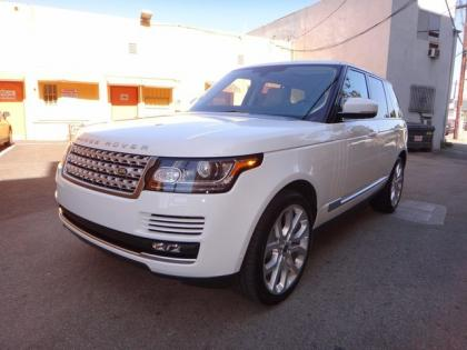 2013 LAND ROVER RANGE ROVER SC - WHITE ON WHITE 3