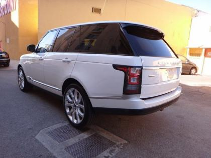 2013 LAND ROVER RANGE ROVER SC - WHITE ON WHITE 4