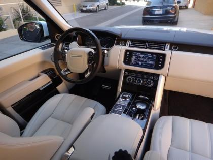 2013 LAND ROVER RANGE ROVER SC - WHITE ON WHITE 5