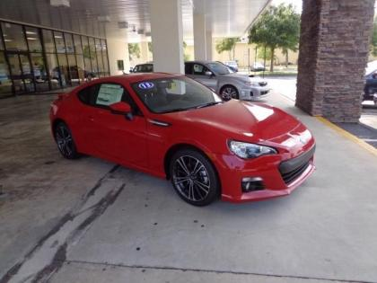 2013 SUBARU BRZ LIMITED - RED ON BLACK