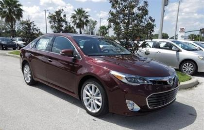 2013 TOYOTA AVALON LIMITED - RED ON BLACK