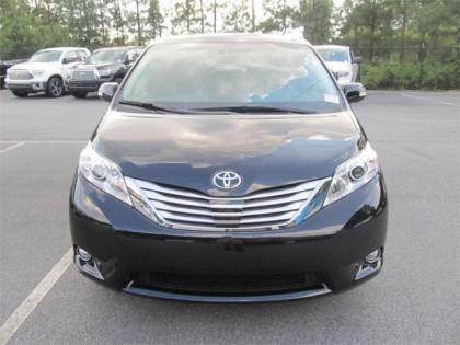2013 TOYOTA SIENNA LIMITED - BLACK ON BEIGE