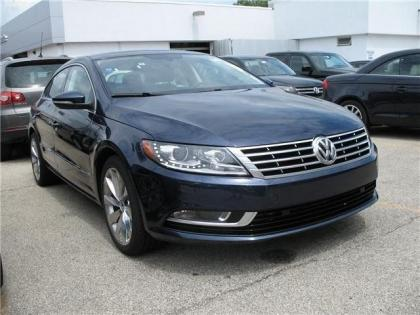 2013 VOLKSWAGEN CC EXECUTIVE - BLUE ON BLACK