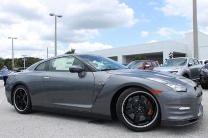2014 NISSAN GT-R TRACK EDITION - GRAY ON GRAY