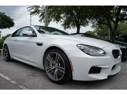 2014 BMW M6 BASE - WHITE ON RED 1