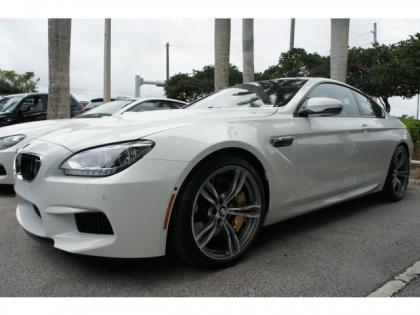 2014 BMW M6 BASE - WHITE ON RED 2