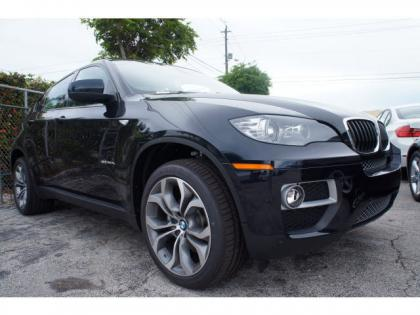 2014 BMW X6 XDRIVE35I - BLACK ON RED