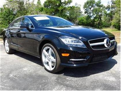 2014 MERCEDES BENZ CLS550 BASE - BLACK ON BLACK