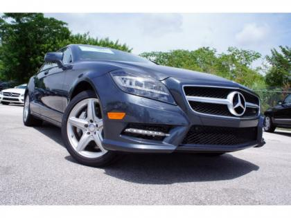 2014 MERCEDES BENZ CLS550 BASE - BLUE ON GRAY